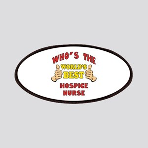 World's Best Hospice Nurse (Thumbs Up) Patches