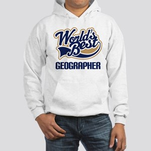 Geographer (Worlds Best) Hooded Sweatshirt