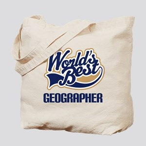 Geographer (Worlds Best) Tote Bag