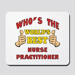 World's Best Nurse Practitioner (Thumbs Up) Mousep