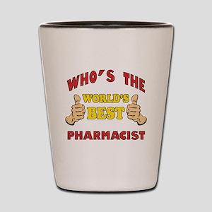 World's Best Pharmacist (Thumbs Up) Shot Glass