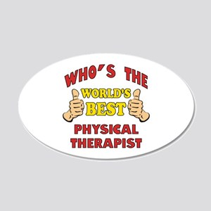 World's Best Physical Therapist (Thumbs Up) 20x12