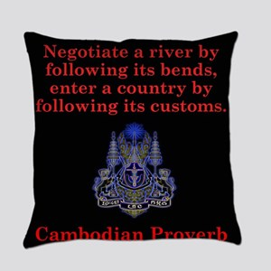 Negotiate A River - Cambodian Proverb Everyday Pil