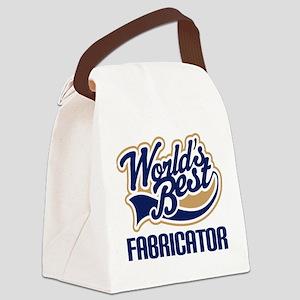 Fabricator (Worlds Best) Canvas Lunch Bag