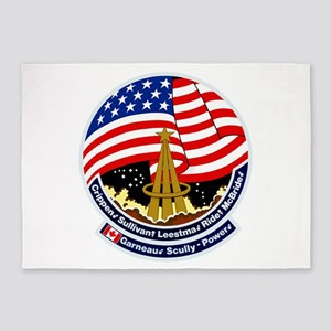 STS-41B Challenger 5'x7'Area Rug