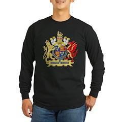 Elizabeth I Coat of Arms Long Sleeve T-Shirt