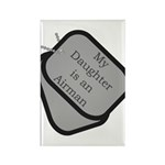 My Daughter is an Airman Rectangle Magnet (100 pa