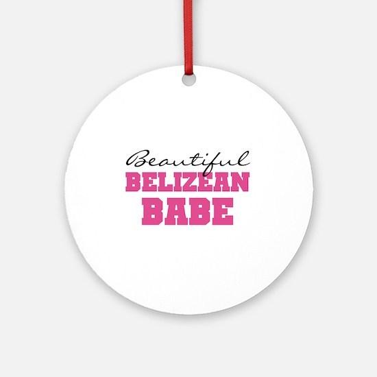 Belizean Ornament (Round)