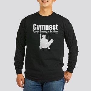 GYMNAST STRENGTH Long Sleeve Dark T-Shirt