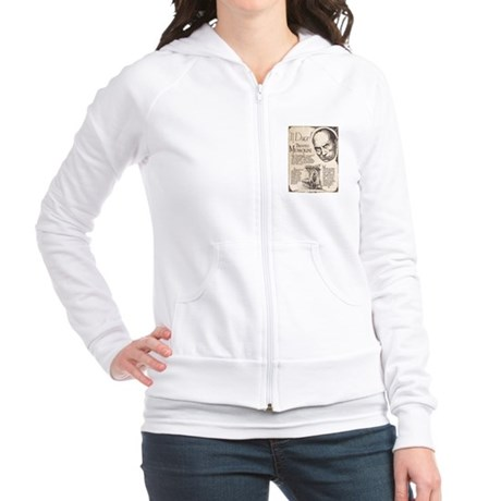 Vintage Benito Mussolini Poster Jr. Hoodie