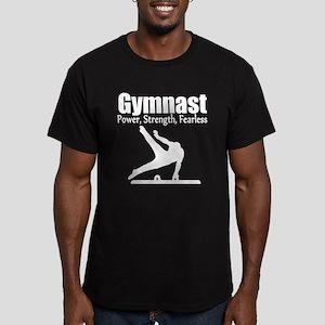 GYMNAST CHAMP Men's Fitted T-Shirt (dark)