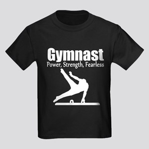 GYMNAST CHAMP Kids Dark T-Shirt