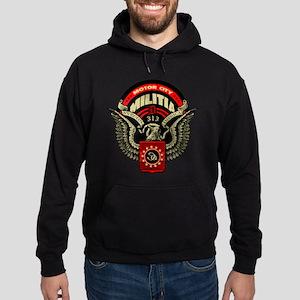 Motor City Militia 313 Detroit Shirt Hoodie