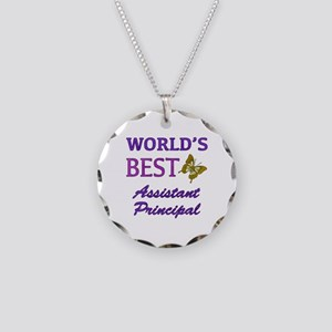 World's Best Assistant Principal (Butterfly) Neckl