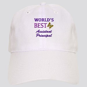World's Best Assistant Principal (Butterfly) Cap