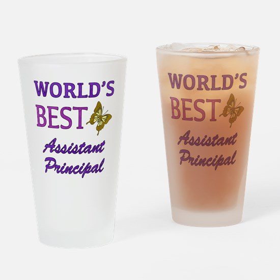 World's Best Assistant Principal (Butterfly) Drink