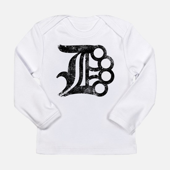 Detroit D Brass Knuckles Long Sleeve T-Shirt