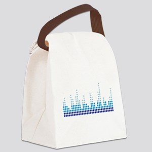 Equalizer music sound Canvas Lunch Bag