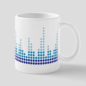 Equalizer music sound Mug