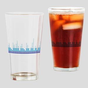 Equalizer music sound Drinking Glass