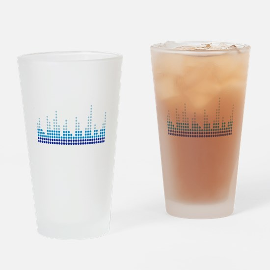 Equalizer music sound Drinking Glass