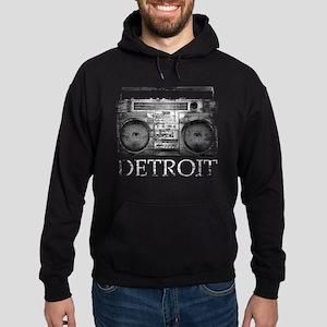 Detroit Ghetto Blaster Boombox Hoodie