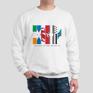 Seven Celtic Nations Sweatshirt