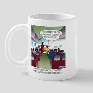 Back Seat Pilots Mug