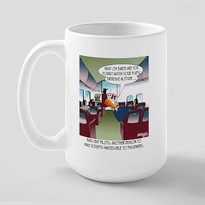 Back Seat Pilots Large Mug