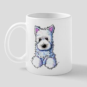 Westie Pocket PUPPY Mug