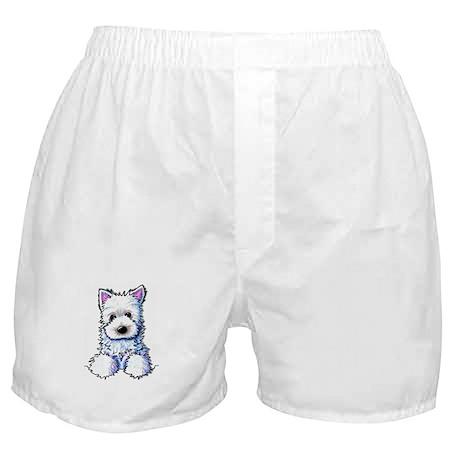 Westie Pocket PUPPY Boxer Shorts