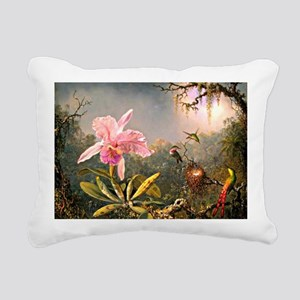 Cattleya Orchid and Thre Rectangular Canvas Pillow