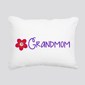 My Fun Grandmom Rectangular Canvas Pillow