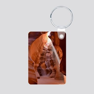 Antelope Canyon Aluminum Photo Keychain