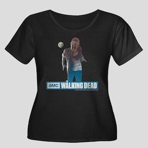 Walking Dead Full Moon Zombie Women's Plus Size Sc