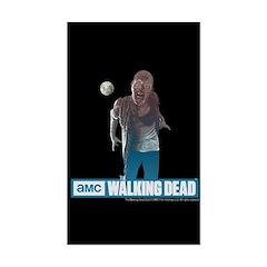 Walking Dead Full Moon Zombie Sticker (Rectangle)