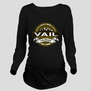 Vail Olive Long Sleeve Maternity T-Shirt