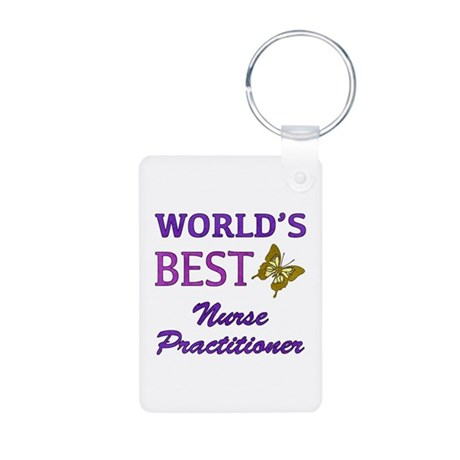 World's Best Nurse Practitioner (Butterfly) Alumin