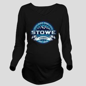 Stowe Ice Long Sleeve Maternity T-Shirt