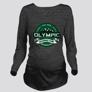 Olympic Forest Long Sleeve Maternity T-Shirt