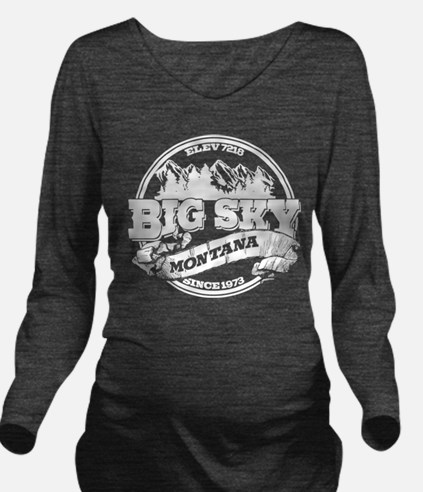 Big Sky Old Circle 2.png Long Sleeve Maternity T-S