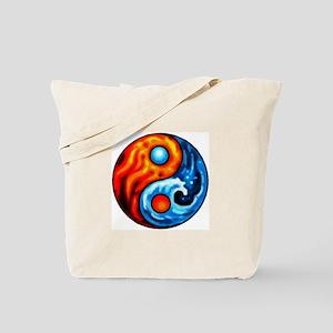 FIRE - WATER YIN - YANG Tote Bag