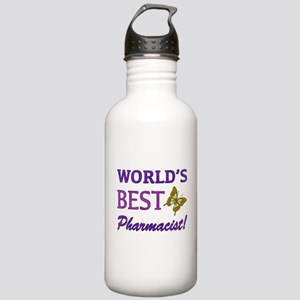 World's Best Pharmacist (Butterfly) Stainless Wate