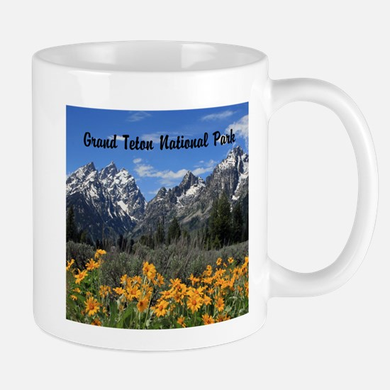 Personalizable Grand Tetons Souvenir Mug