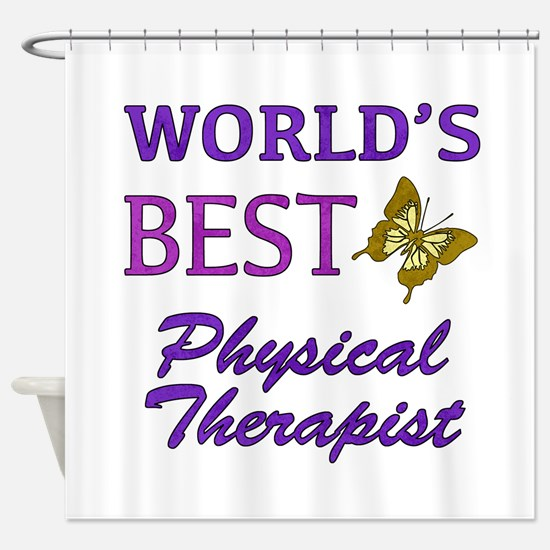 World's Best Physical Therapist (Butterfly) Shower
