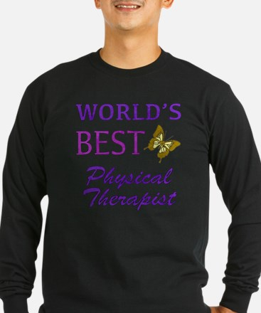 World's Best Physical Therapist (Butterfly) T