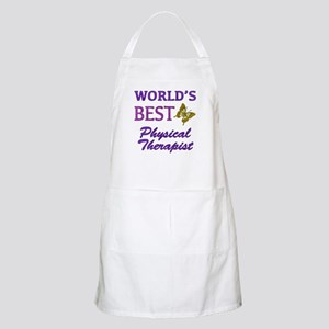 World's Best Physical Therapist (Butterfly) Apron