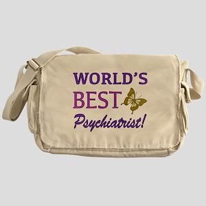 World's Best Psychiatrist (Butterfly) Messenger Ba
