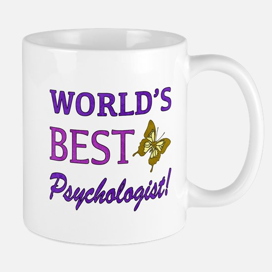 World's Best Psychologist (Butterfly) Mug