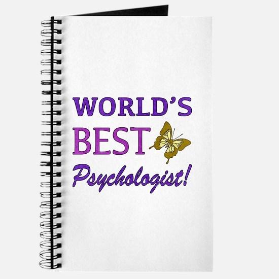 World's Best Psychologist (Butterfly) Journal